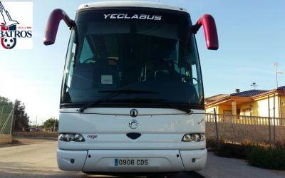 A.D. Albatros Yecla y Autocares Yeclabus juntos de nuevo.