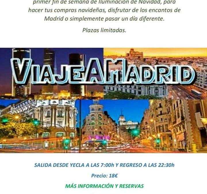 GRAN VIAJE A MADRID 25 NOVIEMBRE