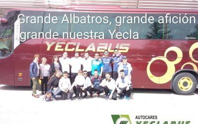 Última salida en liga con Albatros Yecla